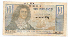 French Equatorial Africa 10 francs ND (1947)