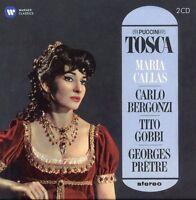 Puccini / Callas / Bergonzi / Gobbi / Pretre - Tosca (1964-1965) [New CD]