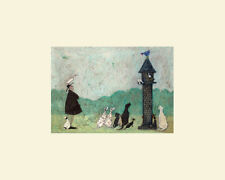 Sam Toft (An Audience with Sweetheart) Mounted Print  MPPR42042 24cm x 30cm