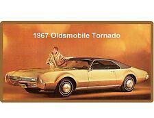 1967 Oldsmobile Tornado  Auto Refrigerator / Tool Box Magnet Gift Card Insert