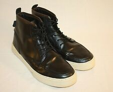 Clae Men's Black Leather High Top Fashion Sneakers Shoes Size 11M