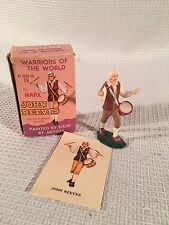Marx Warriors of the World Revolutionary Soldier ~ John Reeves ~ Card & Box