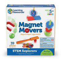 Magnet experiment Activity for Kids -Magnet Movers develops early physics skills