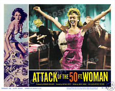ATTACK OF THE 50 FT FOOT WOMAN LOBBY SCENE CARD # 9-YV POSTER YVETTE VICKERS