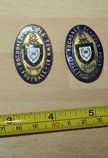 More details for rochdale schools.athletic association & football ix enamel badges x 2