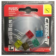 Carpoint 6 fusibles voiture mini-plug-in   NEUF