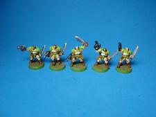 GW Warhammer 40K Space Marine Scouts x5 Painted Metal ea