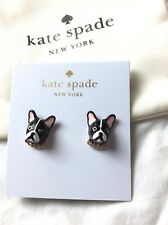 Kate Spade MA CHERIE ANTOINE DOG STUD Earring terrier gold puppy holiday gift np