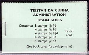 TRISTAN DA CUNHA 4s/2d BOOKLET QEII Stamps SG.SB4 1965 {samwells}SS3548