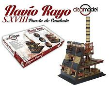 "Detailed, New Wooden Model Ship Kit by Disar: the ""Navio Rayo S.Xviii"""