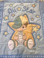 Baby Boy Wall Hanging Quilt Baby Blanket Baseball Handmade
