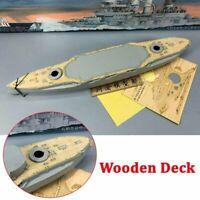 Neu Holzdeck Deck for 1/350 Trumpeter 05354 Schleswig – Holstein Battleship 1935