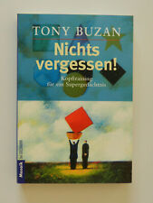 Tony Buzan Nichts vergessen Kopftraining für ein Supergedächtnis