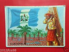 figurines cromos cards figurine sidam gli stati del mondo 47 guatemala flaggen f