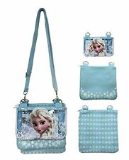 Disney Frozen Anna Elsa Girls Shoulder Messenger Bag Purse Wallet Handbag Kids