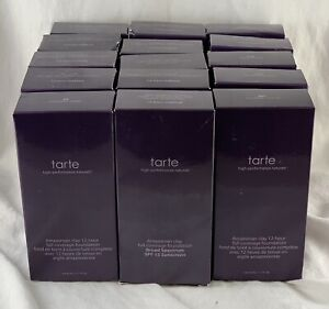 Tarte Amazonian Clay Full Coverage 12-Hr Foundation SPF15 PICK A SHADE 1.7 Fl Oz