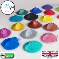 Cosmetic Mica Powder Pigment Soap Bath Bombs Nail Art  Soy Wax Candle SET