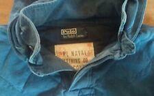 Polo Ralph Lauren Mens Indigo Blue Hoodie Naval  Size Medium