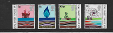 1978 GB. - Energy Resources - Full Set - Mint and Lightly Hinged.