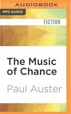 The Music of Chance by Paul Auster (2016, MP3 CD, Unabridged)