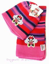 Minnie Mouse Cappello Sciarpa Bambina by Disney a Fasce colorate