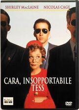 Dvd Cara unbearable Tess with Nicolas Cage 1994 Used