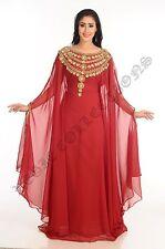 ARABIAN ELEGANT WEDDING GOWN EVENING CAFTAN DRESS FOR AUSTRALIAN WOMEN  1020