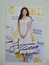 Kim Yoo Jung 4x6 Photo Korean Actress KPOP autograph hand signed USA Seller C5