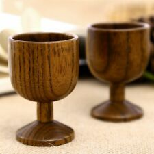 Natural Jujube Wooden Mugs Travel Coffee Tea Cup Milk Wine Beer Goblet Home Bar