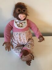 RARE ASHTON DRAKE Mommys Baby MONKEY HUGS COLLECTION Reborn BY DARLENE AUSTIN