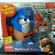 Mr. Potato Head Optimash Prime Transformers Optimus Prime New 2006