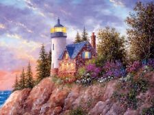 Jigsaw Puzzle Landscape Seascape Lighthouse Beacon to the Sea 1000 pieces NEW