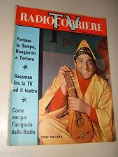 RADIOCORRIERE TV 1961/48=TONY DALLARA=ELDO DI LAZZARO=VITALIANO BRANCATI=ZARDI F