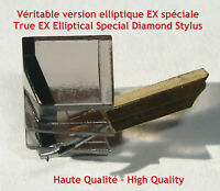 S70EX S70E Stylet Diamant ELLIPTIQUE pour EXCEL SOUND ES70EX ES70EX4 ES70E ES70S