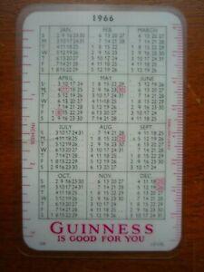 1966 Guinness calendar