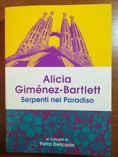 Serpenti nel paradiso - Alicia Gimenez-Bartlett - Mondadori - 2017 - M