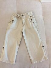 Boys Gap Beige Pants Shorts Size 3T Cotton Linen