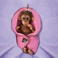 ASHTON DRAKE Bundle of Joy MONKEY Doll NEW