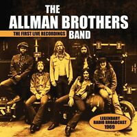 THE ALLMAN BROTHERS BAND - THE FIRST LIVE RECORDINGS   CD NEU