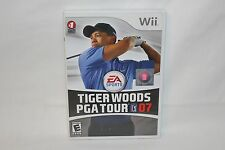Tiger Woods PGA Tour 07 (Nintendo Wii, 2007) Complete with Game, Guide and Case