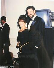 "Star Trek ""TNG"" Emmy Award Photo 8x10 Jonathan Frakes & Marina Sirtis  Un-Signed"