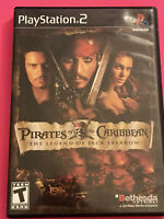 🔥 SONY PS2 PlayStation Two 💯 WORKING GAME🔥PIRATES OF THE CARIBBEAN 🔥