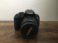 Canon EOS Rebel T4i Camera With EF-S 18-55mm f/3.5-5.6 Lens, Battery, Tested