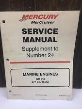 New listing 2000 Mercury MerCruiser Gm V-8 377 Cid 6.2L Service Manual Supplement to 24