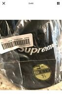 Supreme MLB New Era Fitted Hat Black (Size 7 3/8) SS20 Cap