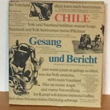 Chile - Gesang und Bericht - Politischer DDR Bildband 1975