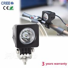 2'' 10W Cree Led Work Light Bar Square Driving Offroad Truck Boat 4WD Spot Lamp