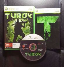 Turok (Microsoft Xbox 360, 2008) Xbox 360 Game - FREE POST