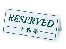 Reservation deposit