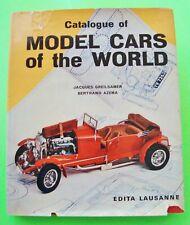 CATALOGUE OF MODEL CARS OF THE WORLD Greilsamer H-C + DJ 1967 AMT Pocher HUBLEY